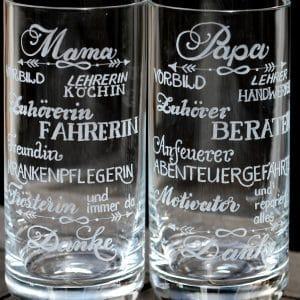 Longdrinkglas Letteringglas
