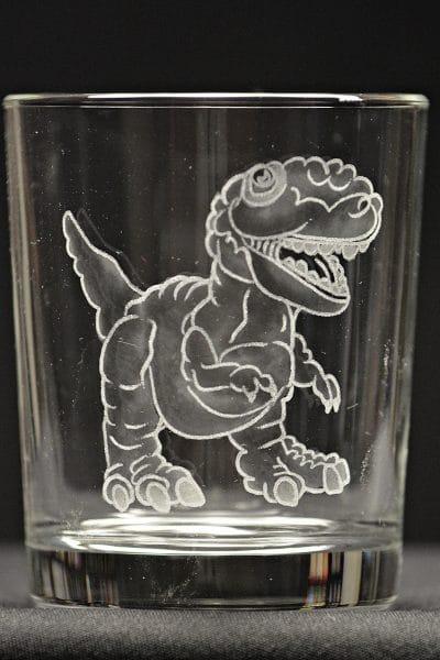 Motivglas Dino / Dinosaurier