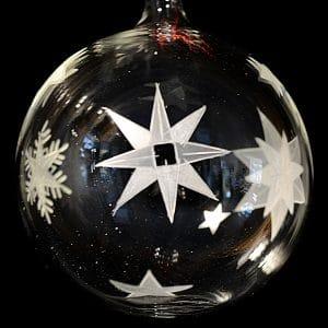 Sterne und Schneeflocke