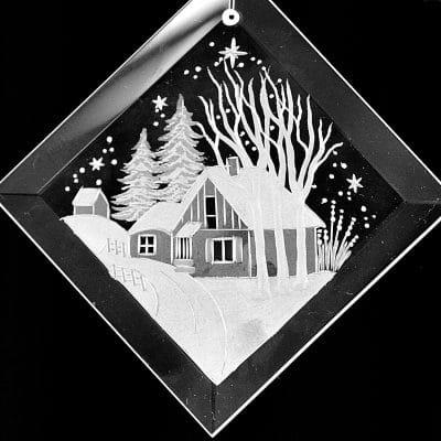 Winterlandschaft Haus