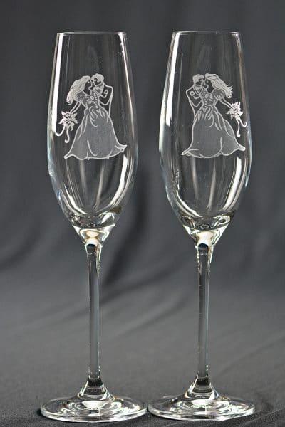 Sektglas Hochzeit