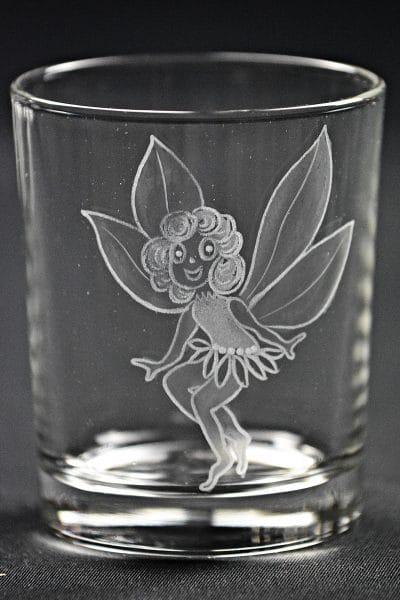 Trinkglas Elfe