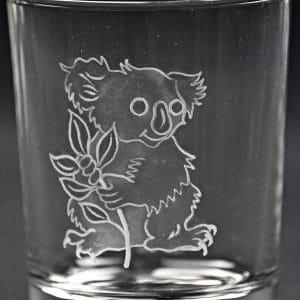 Trinkglas Koalabär